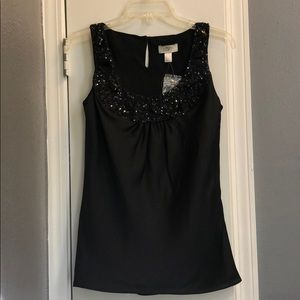 LFOT black sequins top